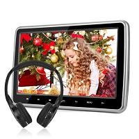 NAVISKAUTO 10.1″ Tablet-Style Car Headrest DVD Player 20% OFF Deal Today