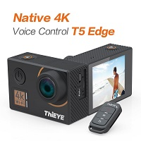 20% OFF ThiEYE T5 Edge 4K Action Camera Wifi Waterproof Sport Video Camera Today's Deal