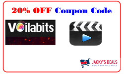 20% OFF Voilabits Video Editor Coupon Code