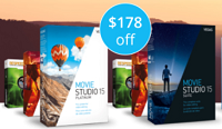 Save $178: VEGAS Movie Studio 15 Platinum Coupon Code