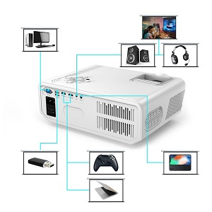 Get 22% Off DBPOWER RD-819 Projector Today
