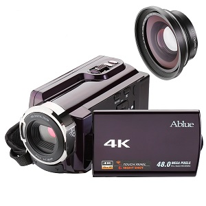 62% Off Deal: Ablue Camcorders, 4K Ultra-HD Portable 30FPS Wifi Digital Video Camera