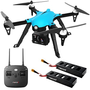 $99 only – 40% Off Force1 F100 Ghost Camera Drone w/ Brushless Motors