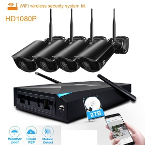 24% Off JOOAN Wireless Home Security Cameras System