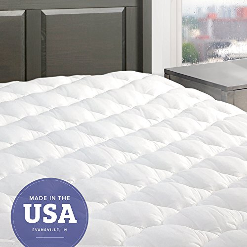 26% Off -$72.99 eLuxurySupply Five Star Mattress Pad with Fitted Skirt