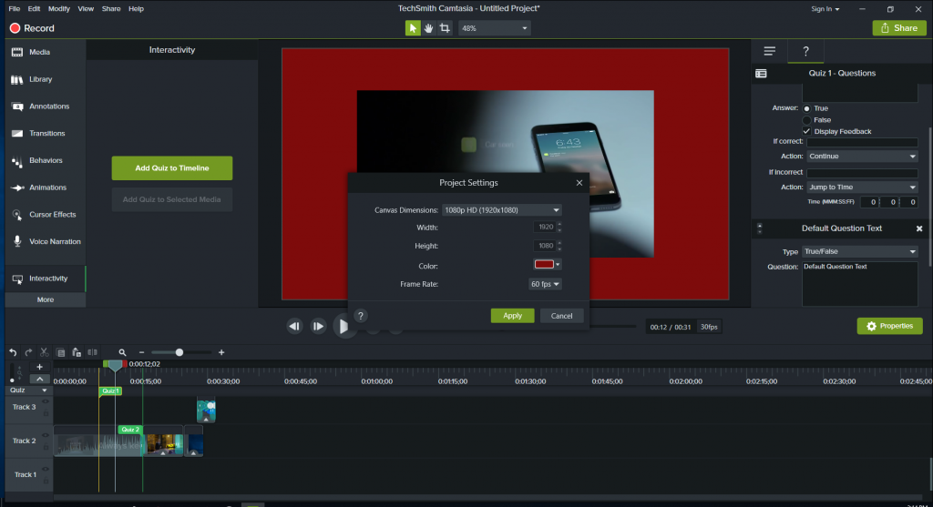 Camtasia 2018 Editing Features