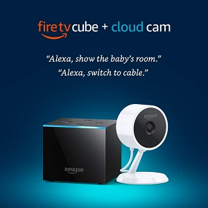 17% Off Fire TV Cube + Cloud Cam Security Camera Special Deal