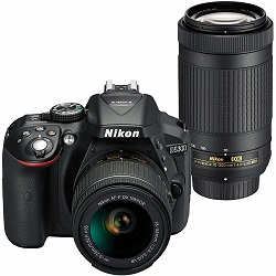 32% Off Nikon D5300 Digital SLR Camera Dual Lens Kit Special Deal
