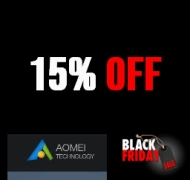 15% Off AOMEI OneKey Recovery Pro Black Friday 2019