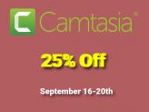 25% Off Camtasia 2019 Discount Coupon Code