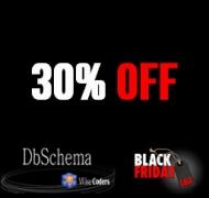 30% Off DbSchema Discount Black Friday 2019 & Cyber Monday