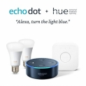 35% Off Eco Dot + Philips Hue 2 Color Bulb Starter Kit