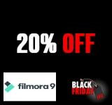 20% Off Filmora 9 MAC Lifetime License Black Friday 2019