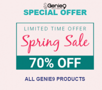 70% OFF Genie9 Coupon codes – Spring Sale 2018