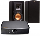 46% Off Deal: Klipsch R-15M Bookshelf Speakers and Powergate Amplifier Bundle