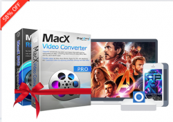 58% Off MacX DVD Video Converter Pro Pack Coupon Code