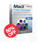 50% Off MacX Video Converter Pro Coupon Code