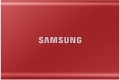 SAMSUNG T7 Portable SSD 2TB - Up to 1050MB/s - USB 3.2 External Solid State Drive, Red (MU-PC2T0R/AM)