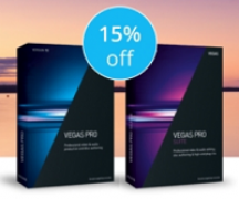 15% Off VEGAS Pro 15 Suite Coupon Code May 2018